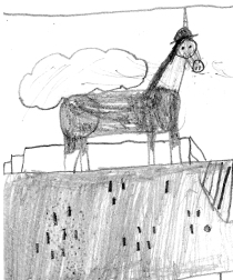 Explorer Unicorn by Megan